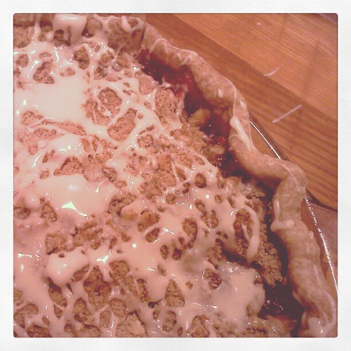 Cranberry streusel pie for Thanksgiving