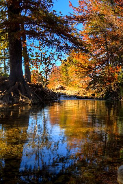 Frio River Pool, Leakey TX  - November 2012