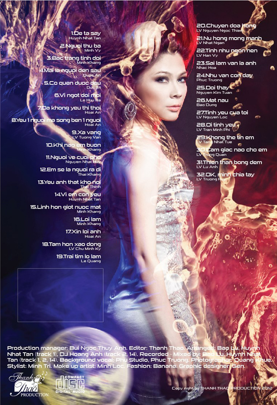 Thanh Thảo   Non Stop 2012   Bạc Trắng Tình Đời (2012) (MP3 + FLAC) [Album]