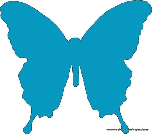 Mariposa para recortar