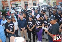 Marcha contra la no violencia contra la Mujer