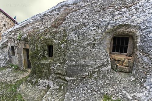 Ermita rupestre en Campo de Ebro