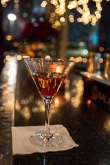 Manhattan at 340 Grill in Hoboken