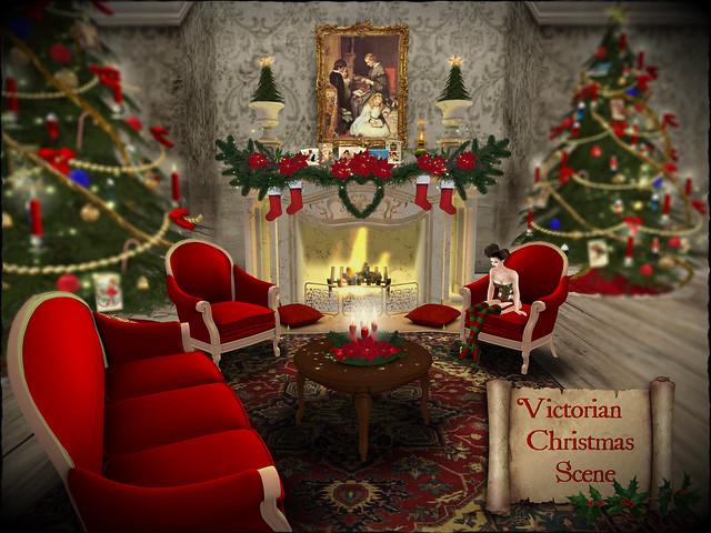 victorian christmas scenes - photo #24