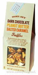 Trader Joe's Dark Chocolate Peanut Butter Salted Caramel Truffles