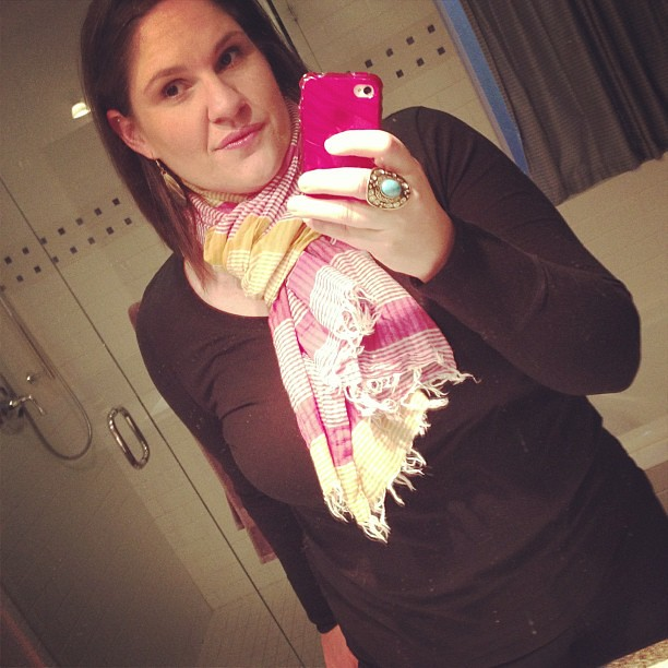 Well, at least my scarf still feels pretty loose.   #ootd