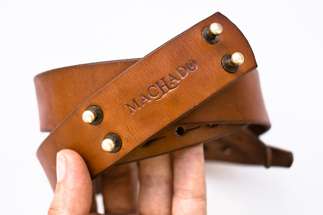 taking care of a Machado Handmade belt