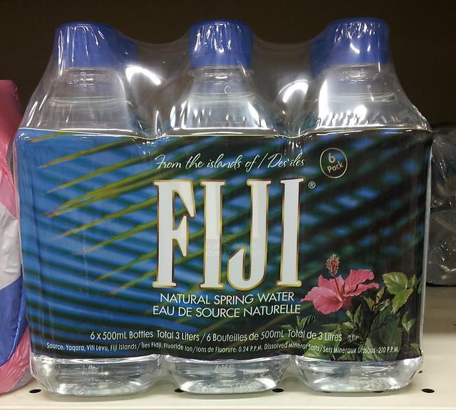Fiji water bottles 6 x 500 mL