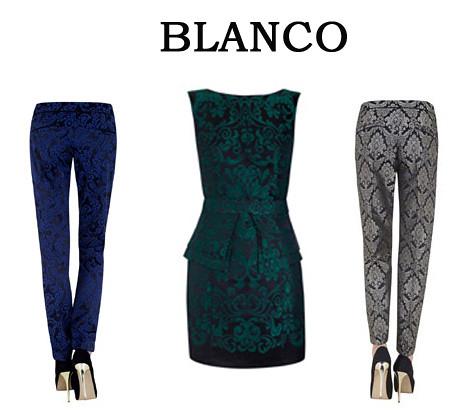 Jacquard Blanco