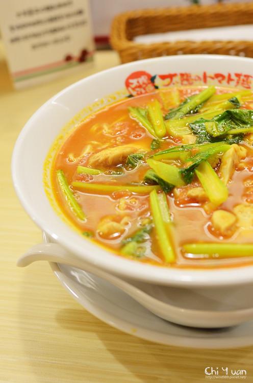 [台北]滿滿元氣,太陽蕃茄拉麵。日本人氣太陽のトマト麺(台北車站商圈)