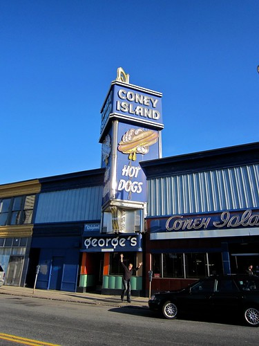 George's Coney Island Lunch Worcester MA Exterior Front