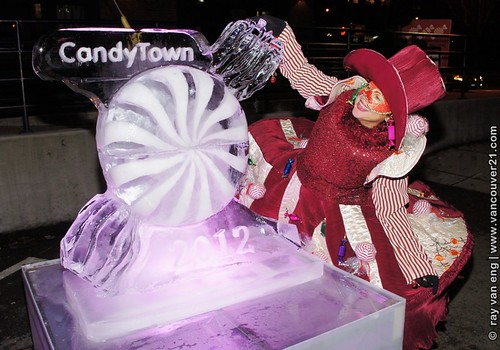 CandyTown 2012 Vancouver Christmas Celebration Comes Earlier with a Horse-draw Carriage through Historic Yaletown