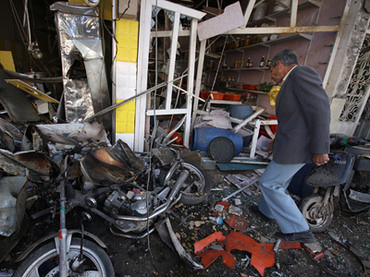 Damage from bomb blasts in Iraq on November 29, 2012. Despite the withdrawal of US troops the war inside the country continues. by Pan-African News Wire File Photos