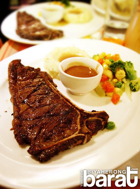 Steak in Arabela Restaurant Liliw Laguna