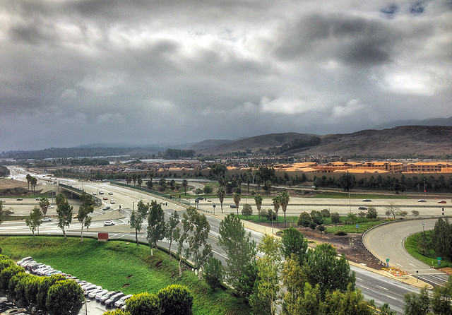 overcast morning