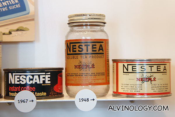 Nescafe and Nestea of yesteryears