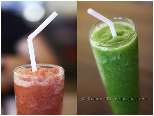 Tito Chef - Crimson Grape & Cucumber Lime Shakes