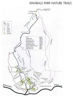 kinabalu park nature trails