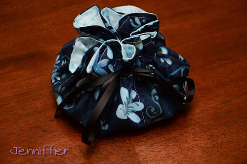 Pretty little Jewelry Pouch