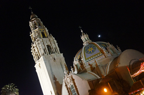 Cathedral Balboa Park by Vilma Salazar