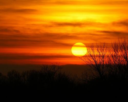 autumn sunset ohio orange evening december dusk sony alpha 2012 a230 fairfieldcounty ruralohio stoutsville ohiofoothills
