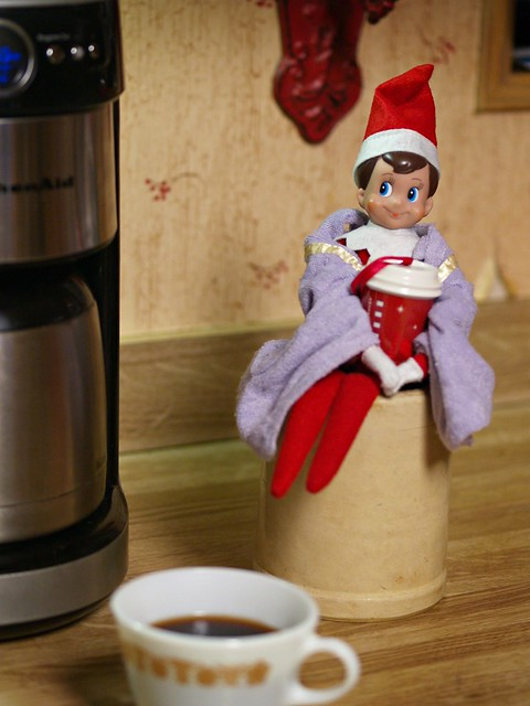 Day 2 : Elf on the Shelf