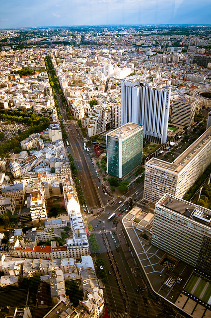 Paris from Montparnasse 56