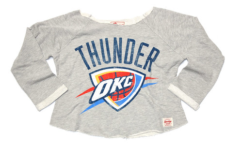 OKC THUNDER ANDREWS SWEATSHIRT BY SPORTIQE