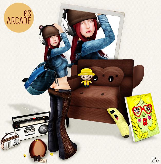 #LOOK136 - ARCADE 03