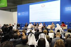 杜哈氣候談判現場(UNFCCC提供)