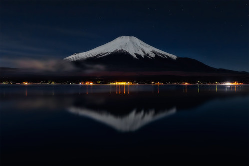 Mt.Fuji and reflection