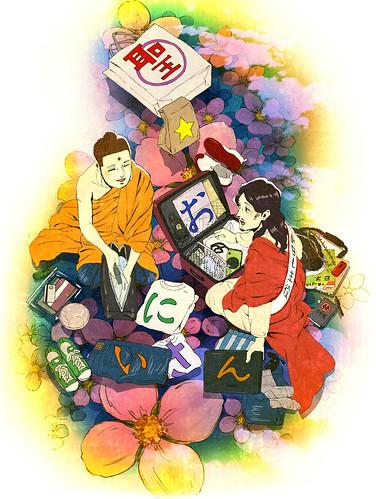 121205(1) - 漫畫改編劇場版《聖☆哥傳》敲定2013/5/10上映,第一張動畫海報堂堂出爐!