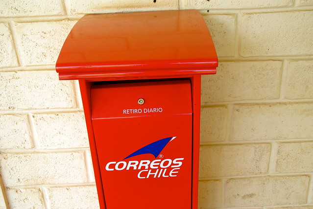 correos chile sending postcards