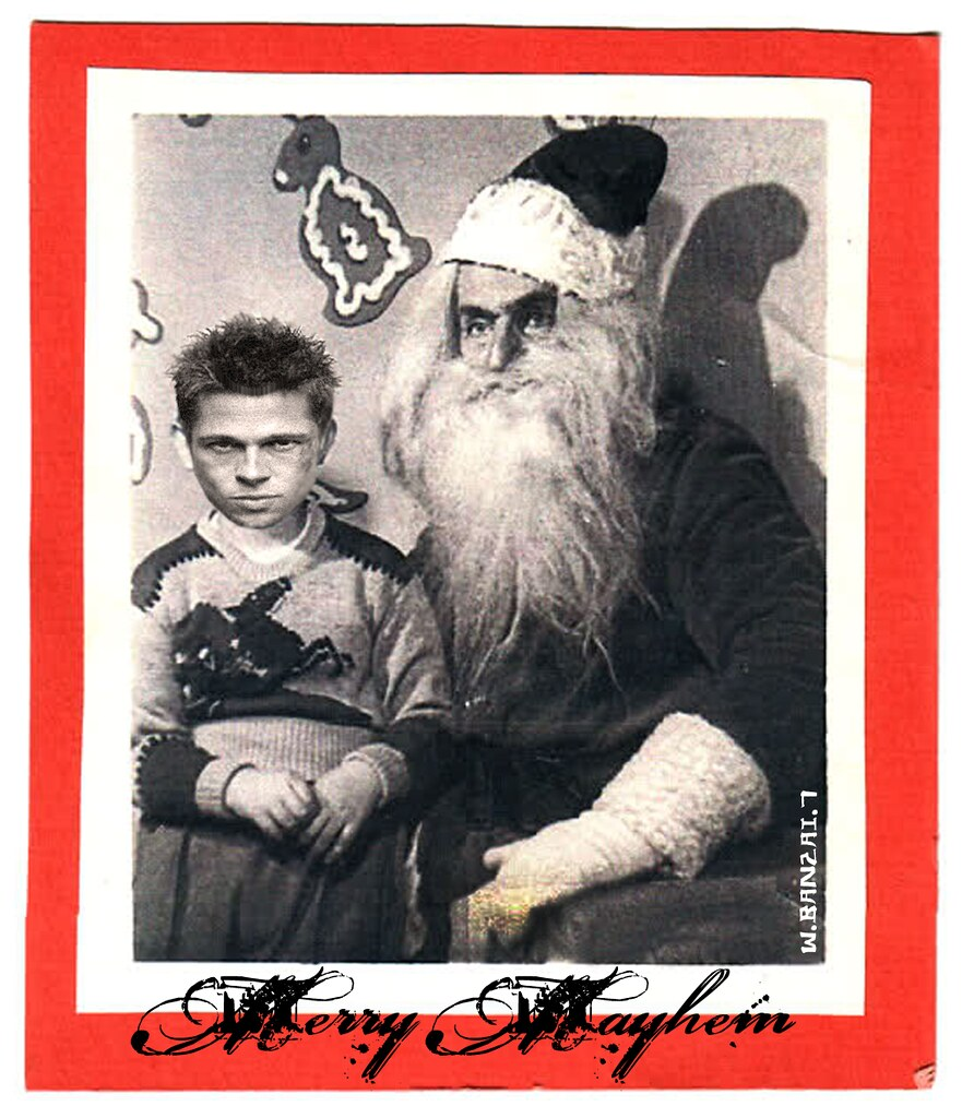 FIGHT CLUB X-MAS CARD