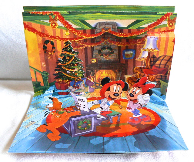 Mickey Mouse Greetings Card (Disneyland Paris)