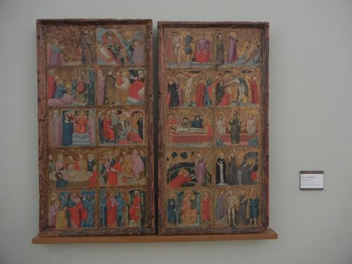 DSCN3272 _ Sotire di Cristo e  santi,Maestro di San Nicolò degli Albari, c 1320, Pinacoteca Nazionale,  Bologna