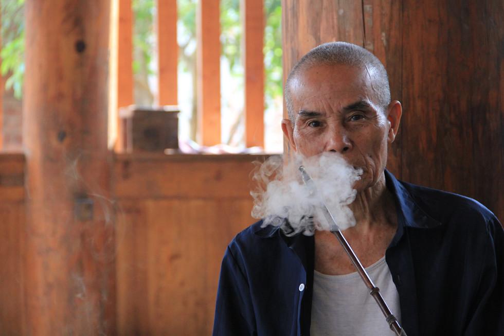 90 Year Old Smoker