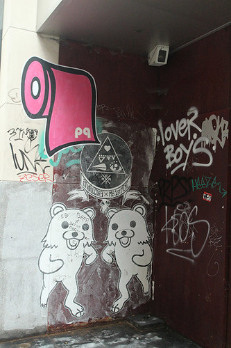 bear grafitti