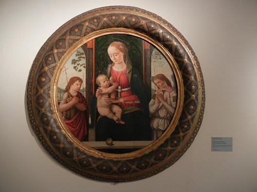 DSCN3804 _ Madonna col Bambino, san Giovannino e un angelo, Biagio d'Antonio