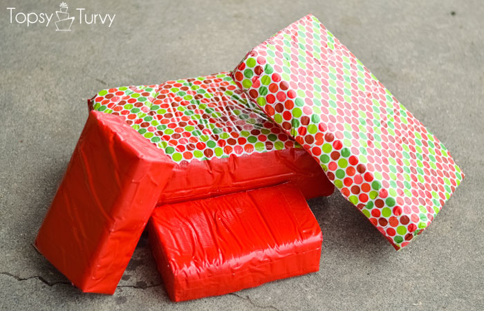 duck-tape-christmas-baby-chair-foam-taped