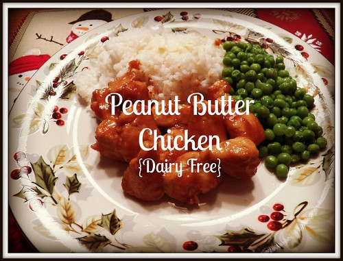peanutbutter chicken