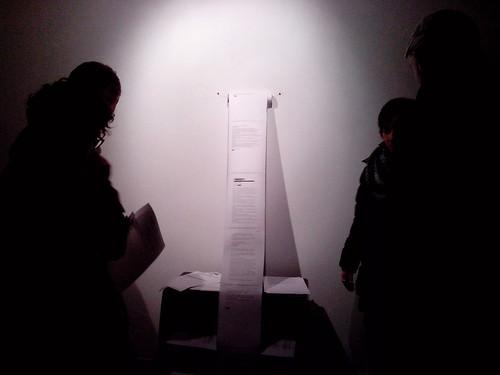 L'installazione ignota di Barbara Uccelli by Ylbert Durishti
