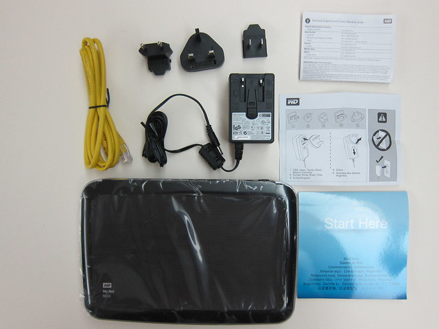 WD My Net N900 Router - Box Contents