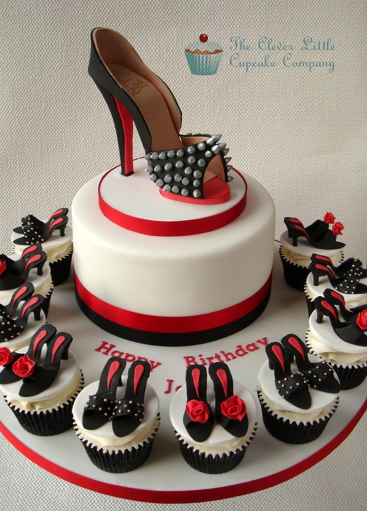 Louboutin Shoe Cake A Photo On Flickriver
