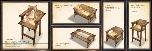 Tiny Chair 'KURUMI'
