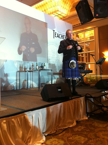 Robert Hicks, Global Brand Ambassador & Consultant Master Blender for Teacher's & Laphroaig