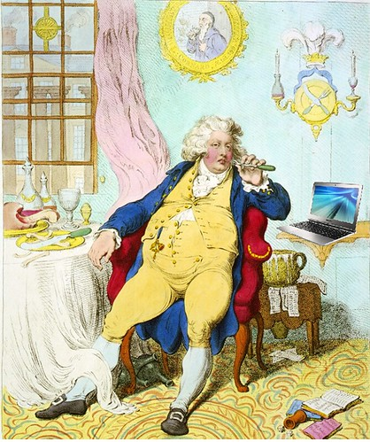 Food Blogger, after James Gillray; CC BY 2.0 by Mike Licht