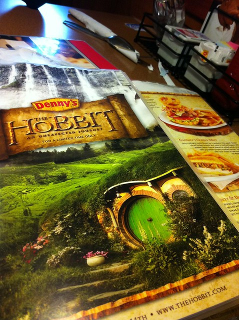 The Hobbit's Breakfast @ Denny's 01
