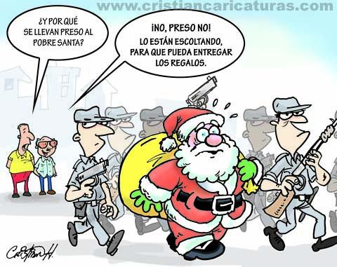 Santa preso