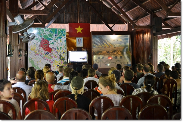 Briefing & Video Show @ Cu Chi Tunnel